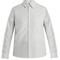 Femme patch-pocket striped oxford-cotton shirt