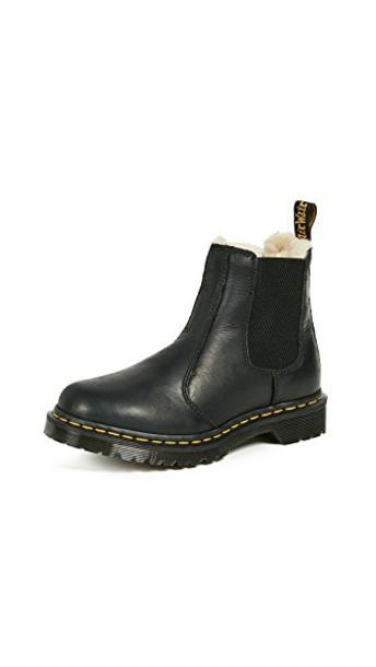 Dr. Martens chelsea boots black shoes