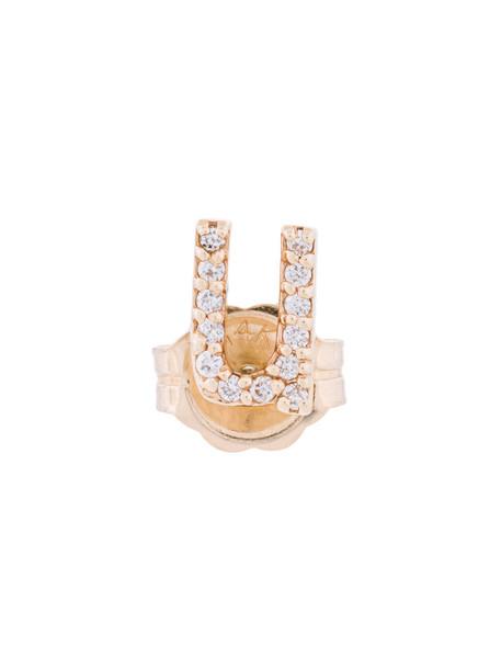 Alison Lou women gold grey metallic jewels