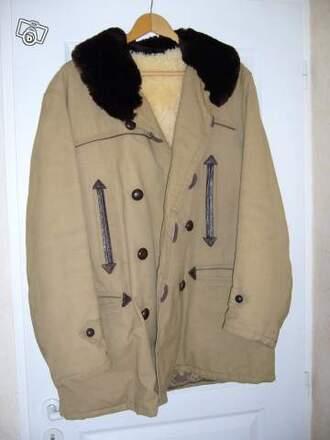 brown jacket canadian jacket fur jacket