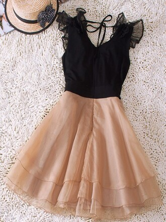 dress beige beige dress black black lace dress lace prom dress cute dress classy elegant summer dress