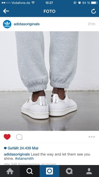 shoes white shoes siver adidas stan smith