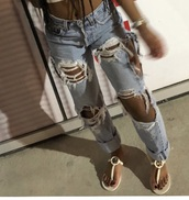 jeans,ripped jeans,denim