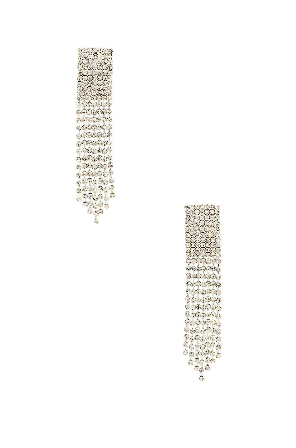 Frasier Sterling Ice Ice Baby Earrings in metallic / silver