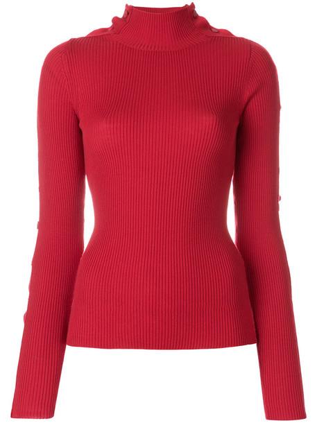 PREEN BY THORNTON BREGAZZI jumper women wool knit red sweater