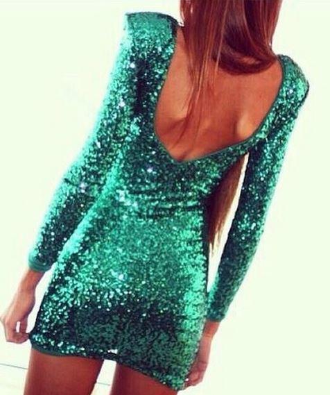 Emerald city dress