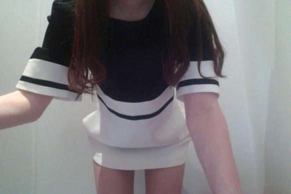 white grunge pale soft ghetto pale grunge soft grunge alternative indie stripes black cute dress