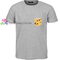 Sun flower pocket t shirt gift tees unisex adult cool tee shirts