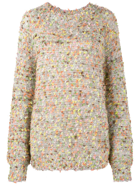 Chloe jumper long women mohair silk wool sweater