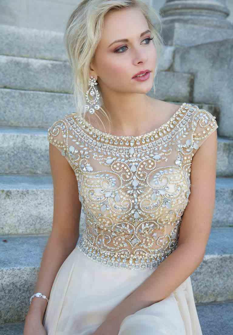 2015 jovani a line skirt prom dress 88174