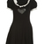 Buy this Vivetta Rodolfo Black Pierrot Dress online at Fifi Wilson.