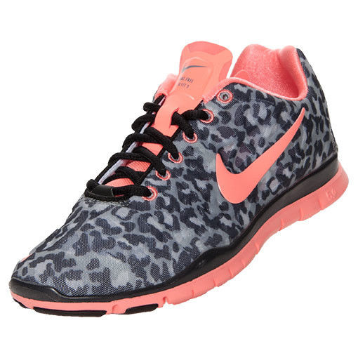 Nike Free TR Fit 3 Print Women Size 9 in Leopard Pink Black Free Shipping | eBay