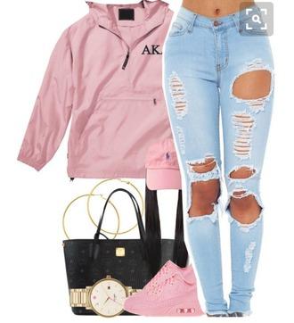 jacket pink windbreaker