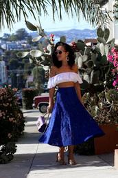 ktr style,blogger,top,skirt,bag,jewels