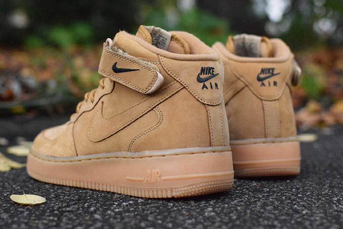 acheter nike air force 1 mid wheat
