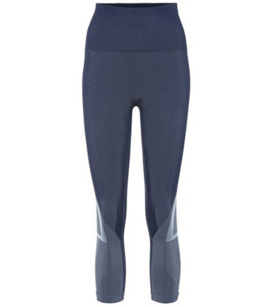 Lndr Spectrum cropped leggings in blue