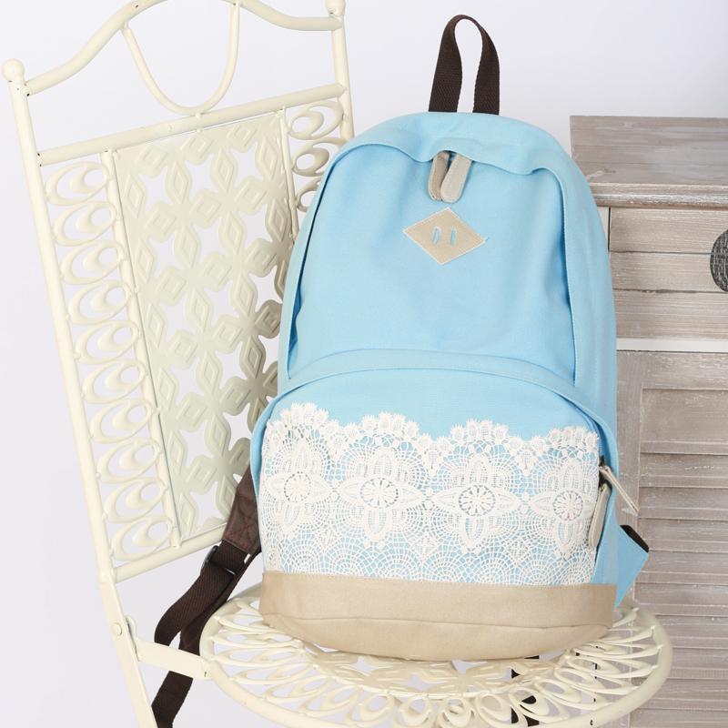 Frische Leinwand Spitze tasche schultasche reisetasche für mädchen versandkostenfrei in von auf Aliexpress.com