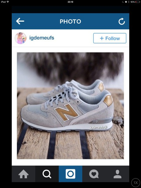 shoes gold and white new balance