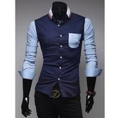 skjorta,dark blue,pattern,bla,mörkblå,olikfärgad
