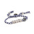 Venessa Arizaga Drama Queen Bracelet - Blue/White