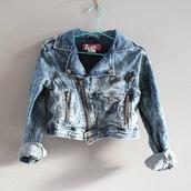 jacket,kid denim jacket,denim jacket,girl denim jacket,acid wash denim jacket