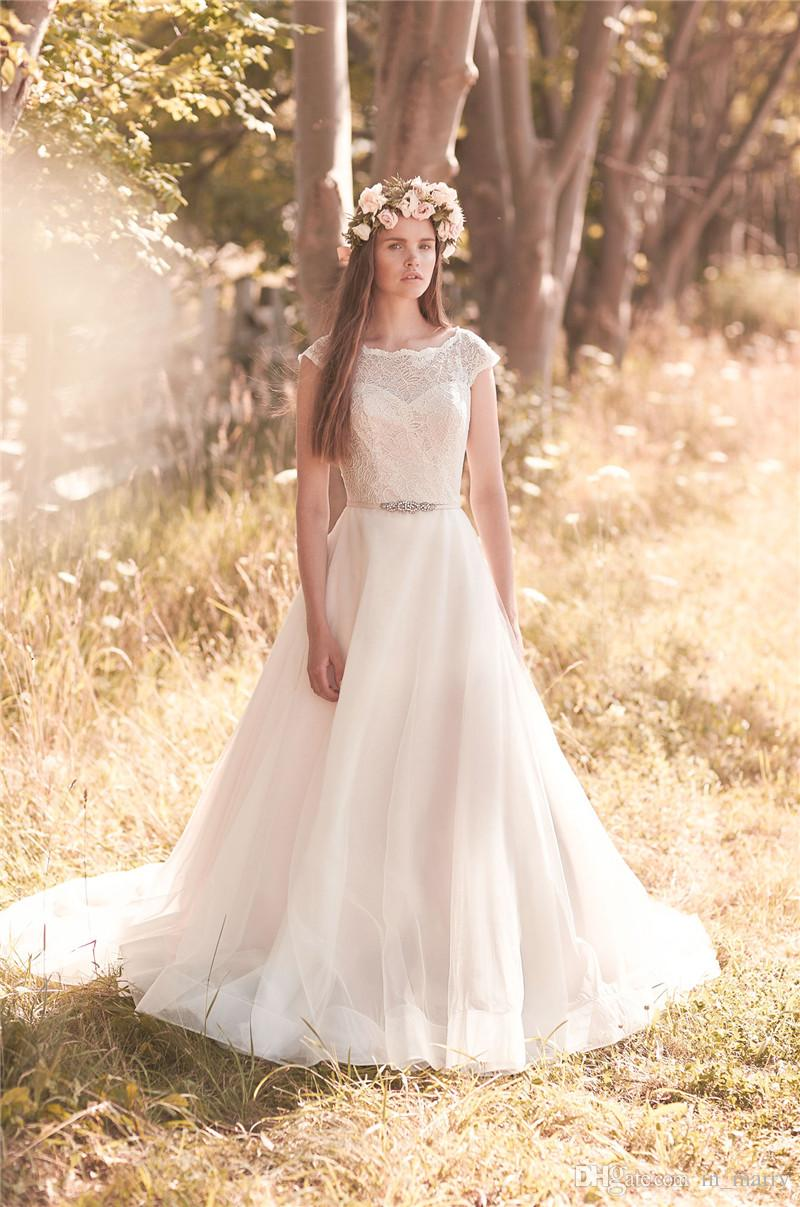 2016 mikaella plus size modest boho wedding dresses 2068 a for Boho country wedding dress
