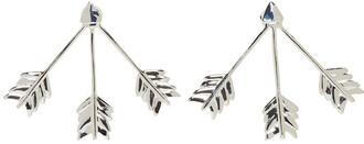 arrow triple earrings silver jewels