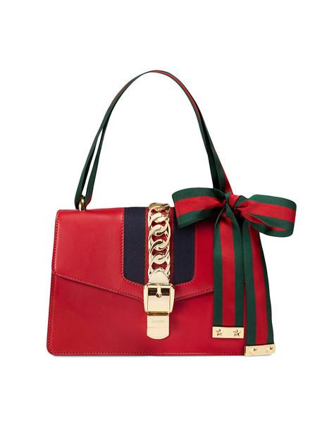 gucci women bag shoulder bag leather red