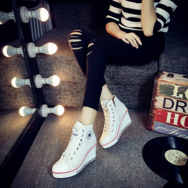 1c842b029dce shoes les bijouteries sneakers high top sneakers womens wedge heel wedge  heels wedge heel sneaker fashion