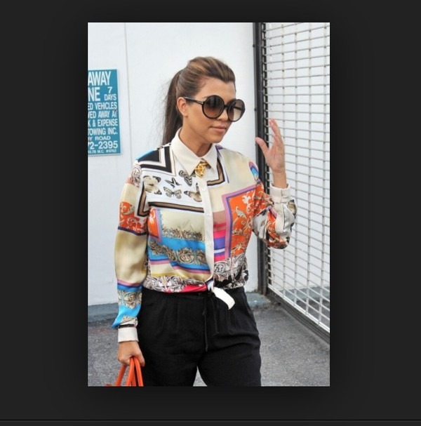 blouse sunglasses pants summer outfits fashion tumblr girl girly