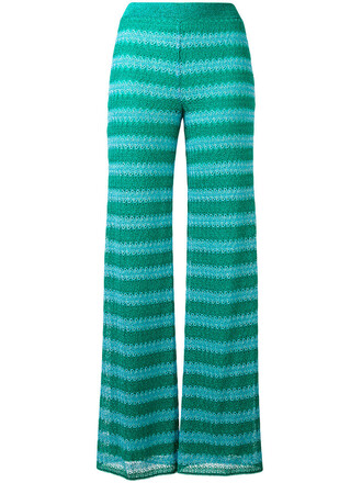 pants women green