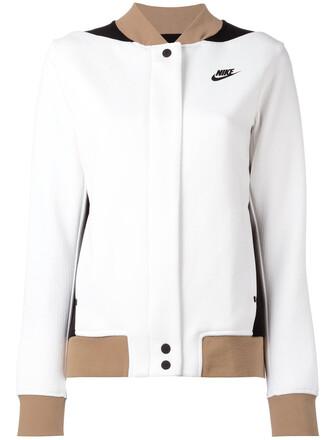 jacket varsity jacket women varsity white cotton