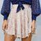 Sequin mesh skirt