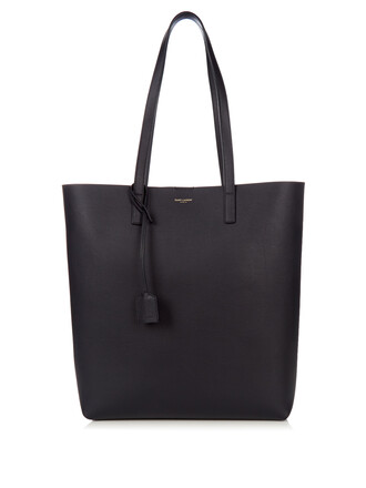leather navy bag