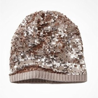 hat slouchy sequin beanies hat