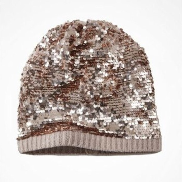 hat slouchy sequins beanie