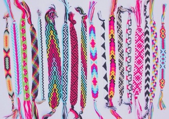 jewels cotton bracelets anklet urgent colorful fashion