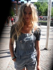 shorts,dress,cute,overalls,dungaree,dungares,denim overalls,jumpsuit,topshop,topshop jumpsuit,tumblr,pretty,vintage,old fashioned,shortall,onesie,blue,pockets,fashion,90s style,90s grunge