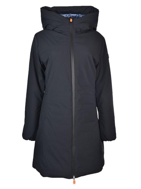 Save The Duck parka black coat