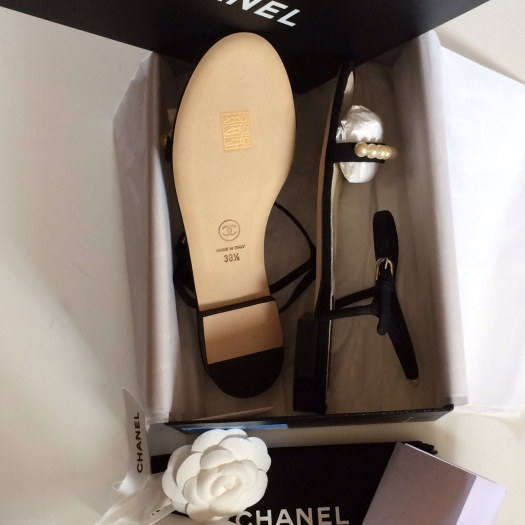 Sandales plates CHANEL