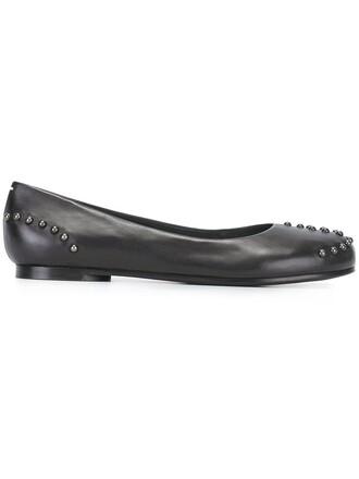 studded shoes black