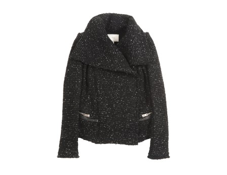 Lierane Jacket - Open jacket with shawl collar without closure - Black - Jackets - Women - IRO