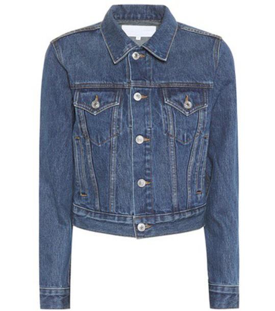 Re/Done jacket denim jacket denim classic blue