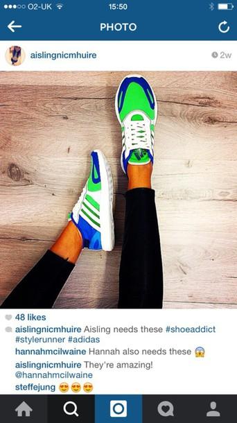 shoes adidas bright green