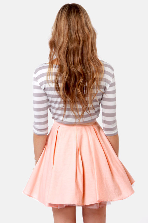 lines girly casual hair precious skirt t-shirt