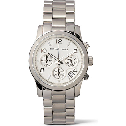 MICHAEL KORS - MK5076 stainless steel chronograph watch | Selfridges.com