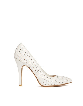 New Look | New Look Set White Court Shoes at ASOS