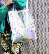 bag,clothes,silver,rainbow,pants