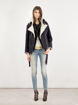 jeans jacket lookbook fashion iro