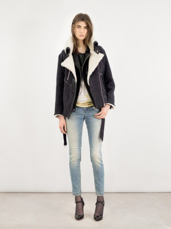 jacket iro fashion lookbook jeans